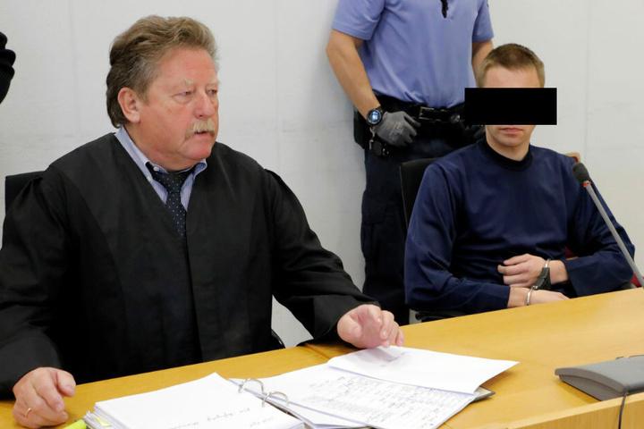 Maik G. (28) in Chemnitz vor dem Landgericht.