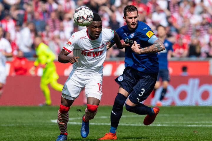 Die FC-Offensive um Cordoba war am Sonntagnachmittag eine Klasse zu gut für die Kieler.