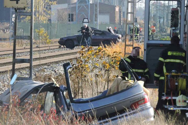 Was tun, wenn ein Zug mit einem Auto kollidiert und entgleist? Die Delitzscher Feuerwehrkameraden wissen nun genau Bescheid.