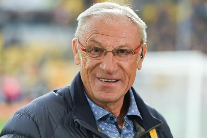 Eduard Geyer feiert seinen 75. Geburtstag.