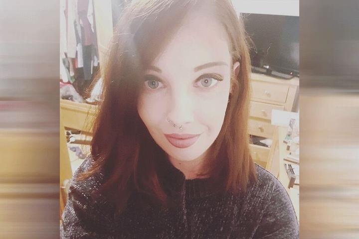 Grace Robertshaw auf einem Facebook-Selfie.