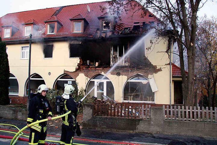 Am 4. November 2011 hatte Zschäpe die Doppelhaushälfte an der Frühlingsstraße in Brand gesteckt.