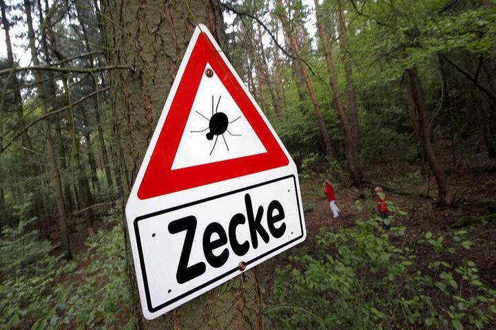 Besonders gefährliche Gebiete sind gekennzeichnet.