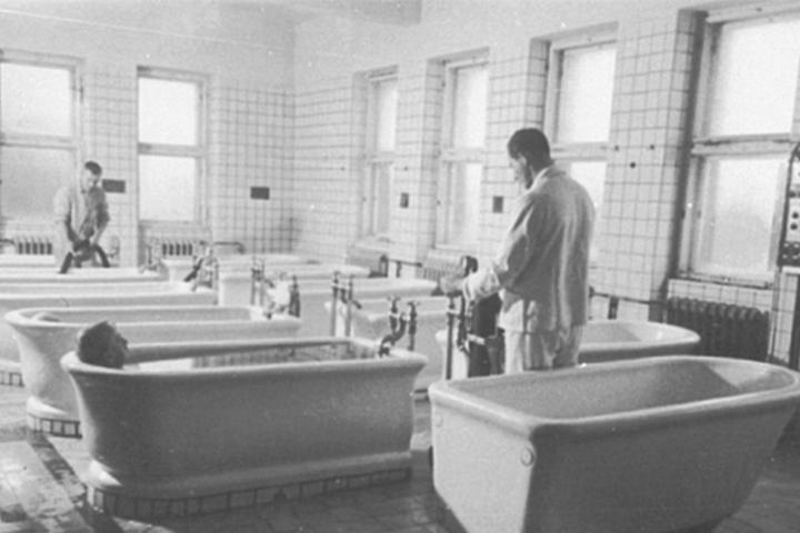Nach den neuen Plänen soll das Sachsenbad Gesundheitsbad werden.