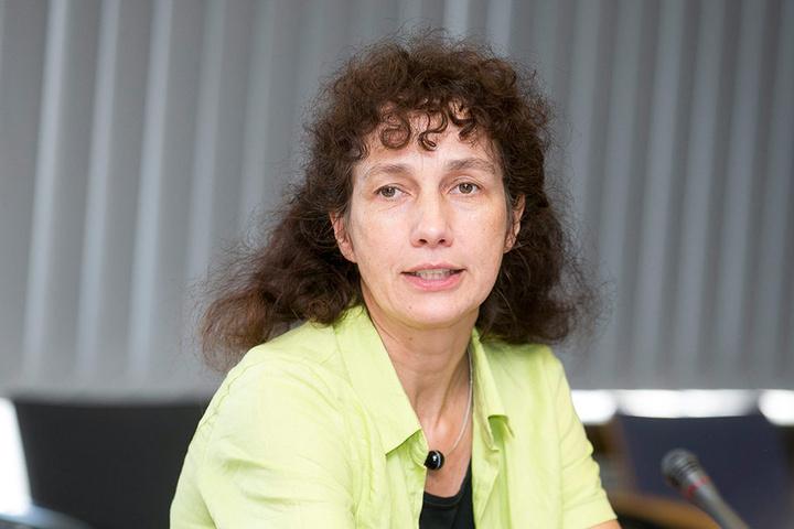 Lioba Buscher, Leiterin der Kommunalen Statistikstelle, stellte gestern die  aktuellen Zahlen für Dresden vor.