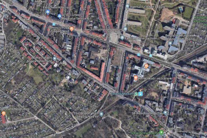 Der Vorfall ereignete sich an der Kirschbergstraße.