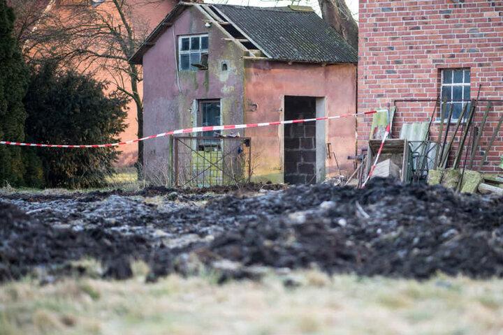 Auf dem Gehöft in Hille fanden die Ermittler zwei weitere Leichen.