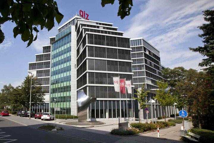 Das GIZ-Zentrum in Eschborn.