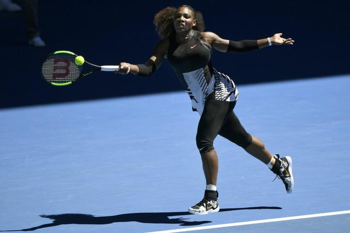 Serena Williams gewann gegen Kroatin Mirjana Lucic-Baroni (34) klar in zwei Sätzen mit 6:2 und 6:1.