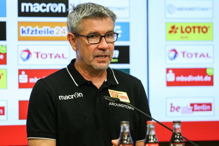 Urs Fischer auf der Pressekonferenz nach dem Spiel gegen Borussia Dortmund.