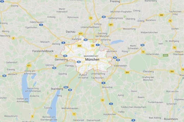 Ein 24 Jahre alter Autofahrer ist in München in gut einer Stunde elf Mal geblitzt worden.