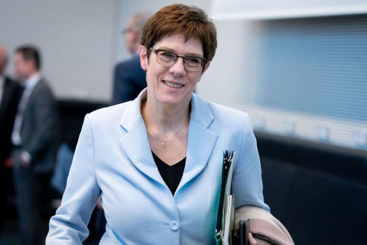 Am Montag gab Annegret Kramp-Karrenbauer ihren Rücktritt bekannt.