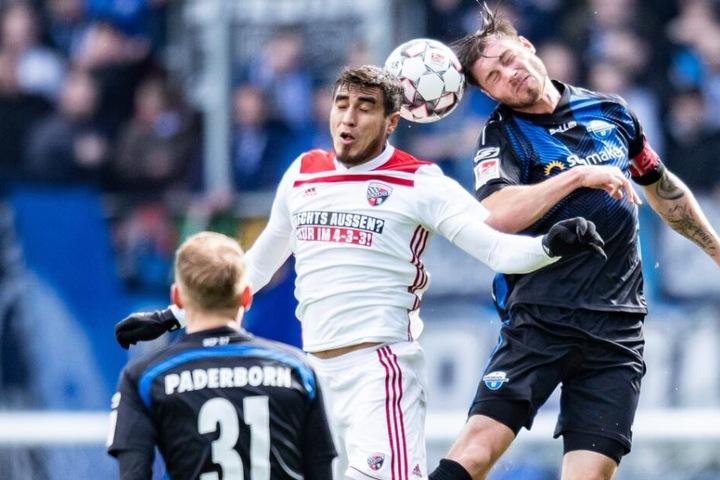 Die Paderborner drehten das Spiel und gewannen am Ende mit 3:1.