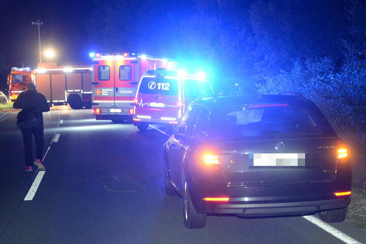 Mehrere Rettungswagen waren vor Ort, um die Verletzten in Krankenhäuser zu bringen.