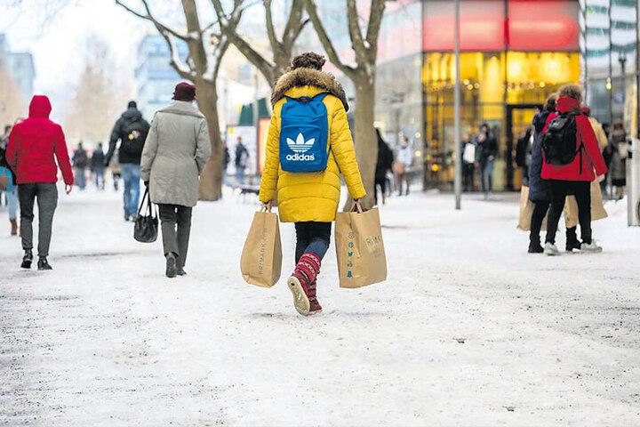 Die teuersten Preise im Einzelhandel werden auf der Prager Straße verlangt.