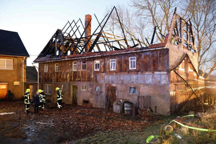 An dem Gebäude entstand ein enormer Schaden.