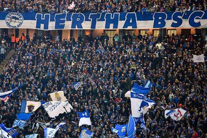 Knapp 30.000 wollten im Olympiastadion Herthas Rückkehr auf die europäische Bühne sehen.