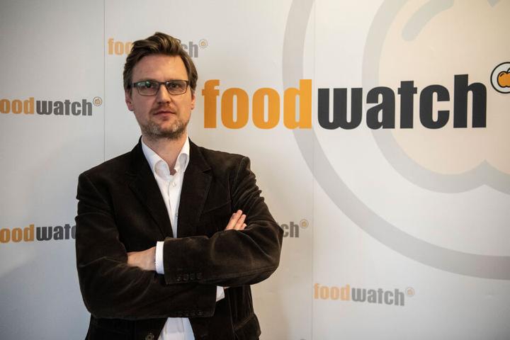 """Martin Rücker, Geschäftsführer von foodwatch-Deutschland, findet auch: """"Die Mehrwertsteuer auf Obst und Gemüse muss abgeschafft werden."""""""