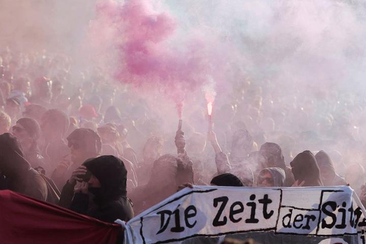 Die revolutionäre 1.-Mai-Demo will in diesem Jahr durch das Myfest ziehen, ob das zugelassen wird, ist fraglich.