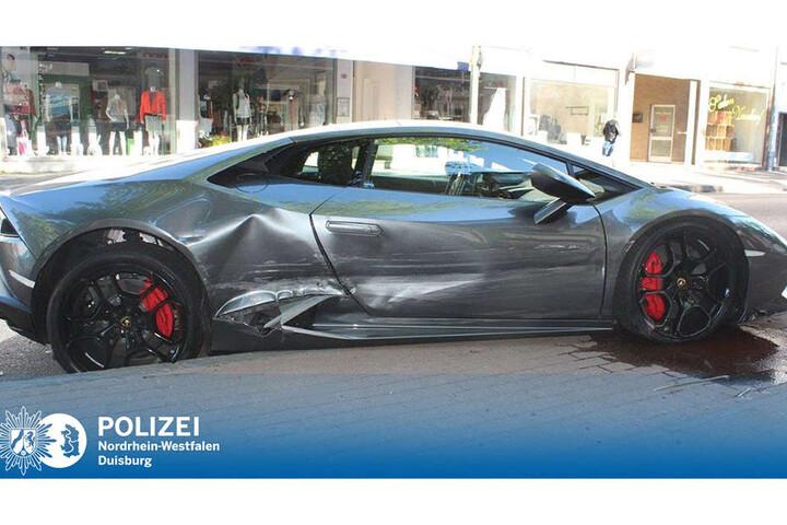 Bei dem Anblick dürften Lamborghini-Fans die Tränen in die Augen steigen.