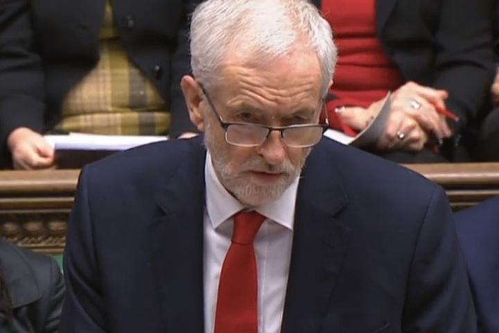 Jeremy Corbyn, Vorsitzender der Labour-Partei.