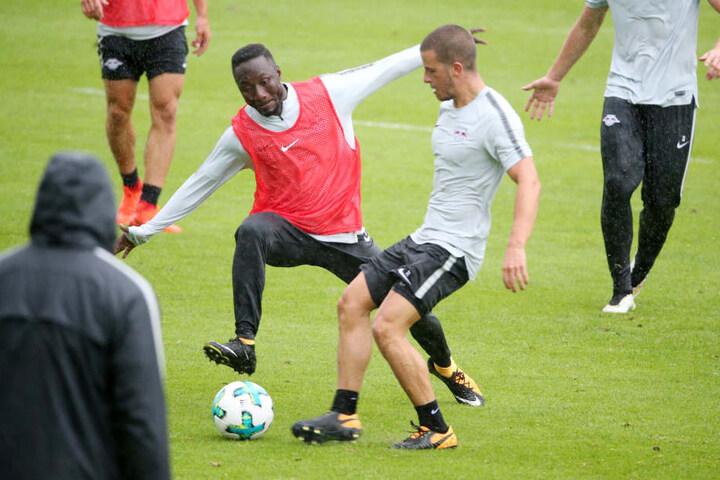 Naby Keita (22) hatte seinen Mannschaftskollegen beim Training umgemäht.