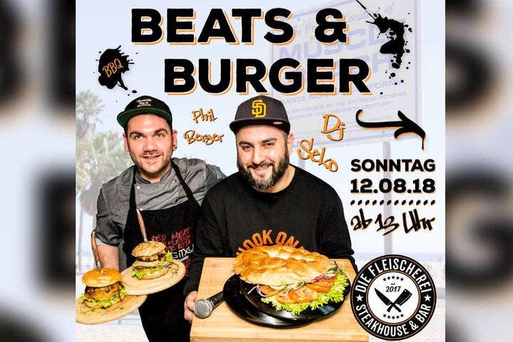 Leckere Burger und coole Beats gibt´s ab 13 Uhr in Lippstadt!