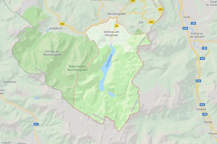 Der Königssee.