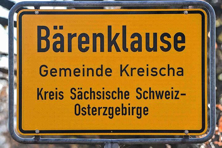 Tatort Bärenklause: Hier schoss der Jäger den Trecker-Fahrer vom Bock.