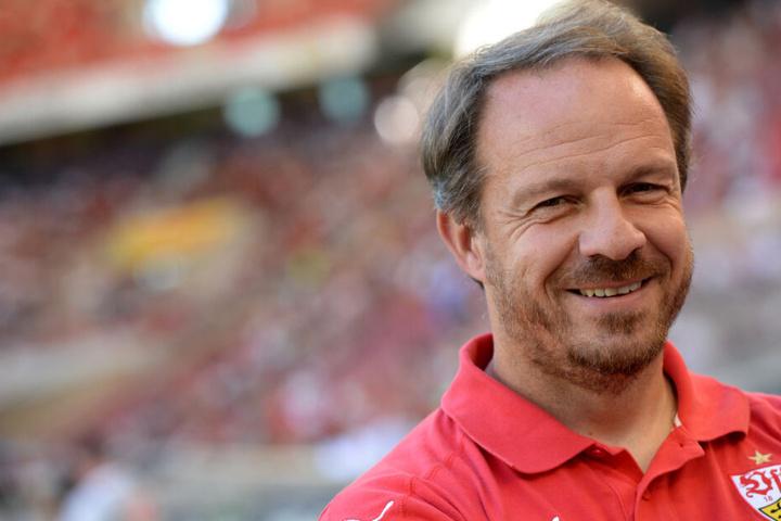 Vom 1. Juli bis 24. November Trainer bei den Schwaben: Alexander Zorniger.