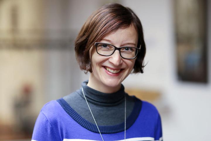 Sie steckte hinter der Idee: Initiatorin Franziska Wellmer