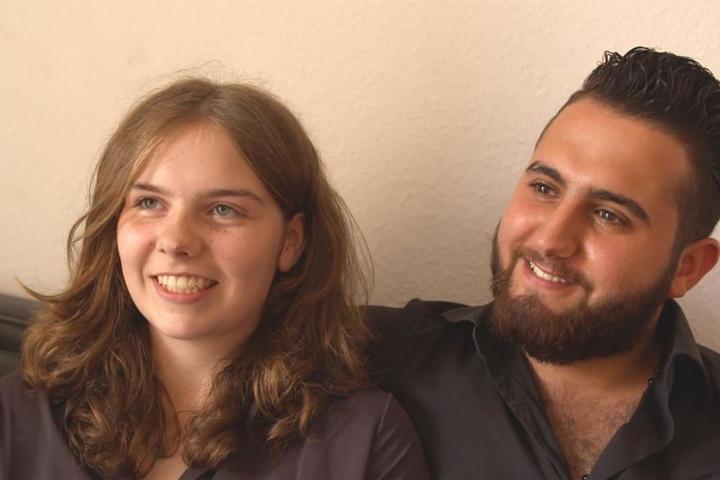 Über die Beziehung von Malvina (16) und Diaa-Mohammed (19) wird derzeit immer wieder diskutiert.