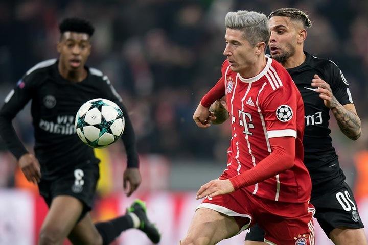 Das letzte Zusammentreffen der beiden Topclubs konnte der FC Bayern für sich entscheiden (3:1).