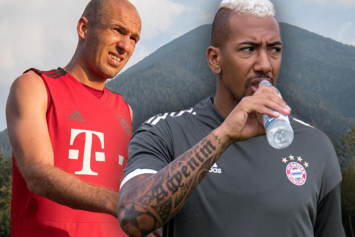 Arjen Robben hat eine klare Meinung zu einem möglichen Abschied von Jérôme Boateng.