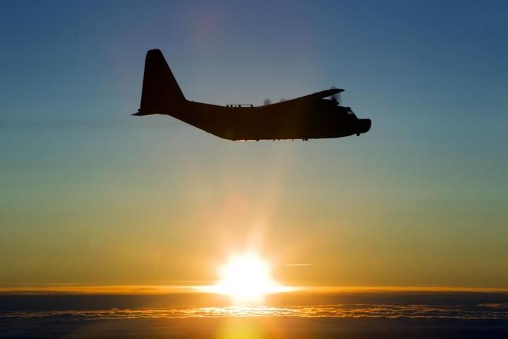 Auch ein Tankflugzeug war involviert. (Symbolbild