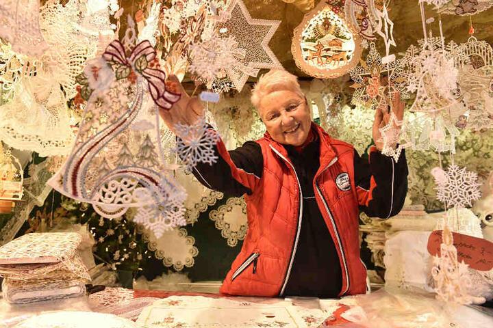 Ingrid Necke (66) macht ihren Spitzenjob mit Leidenschaft.