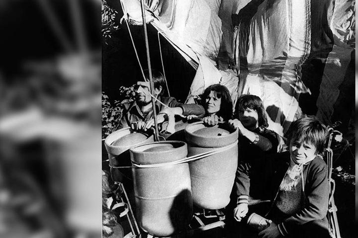 Peter Strelzyk gelang mit seiner Familie die Flucht im Heißluftballon.