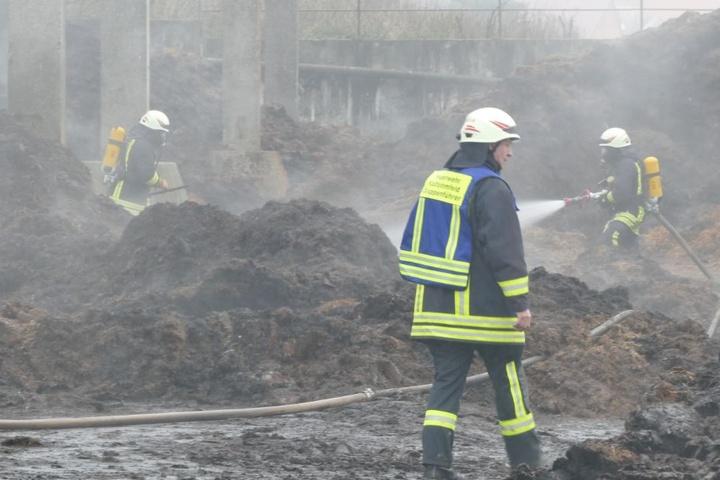 Das Feuer wurde schnell unter Kontrolle gebracht.