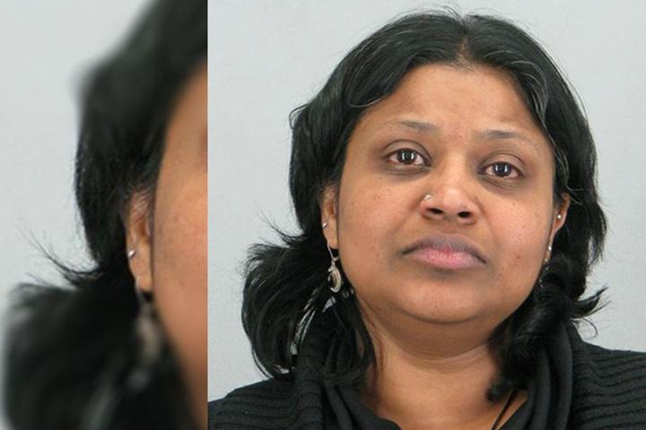 Porträt der Beschuldigten Poongodi Kannan.
