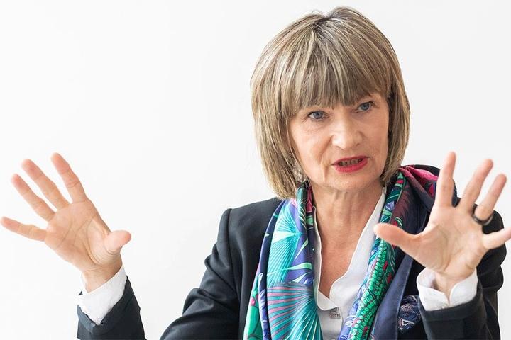 Unter Druck: Oberbürgermeisterin Barbara Ludwig (56, SPD).