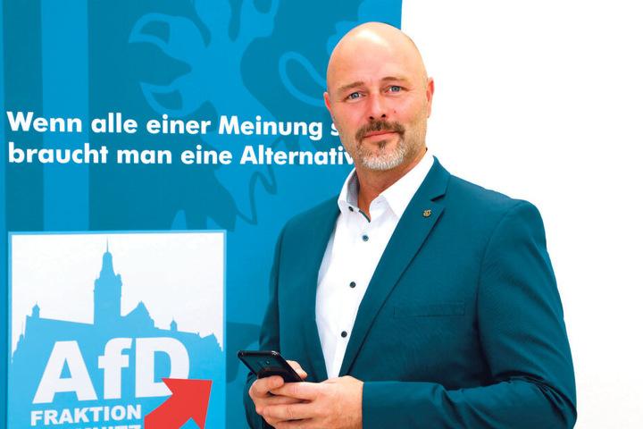 Nico Köhler (44) möchte sich für die AfD bewerben.