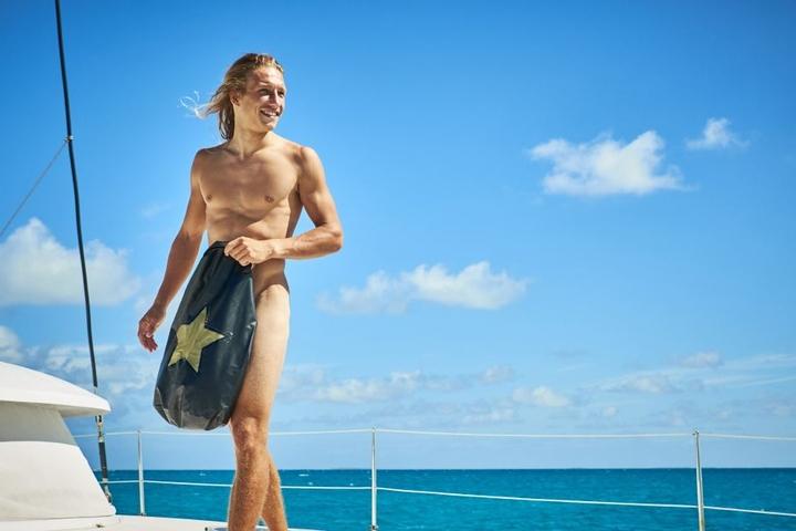 Marius Hoppe ist Kitesurfer und erst seit Kurzem Single.