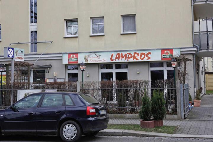 """""""Bei Lampros"""" erbeuteten die Ganoven ebenfalls Fleisch."""