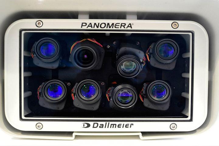 """Die Kameras schauen durch acht """"Augen"""", produzieren riesige Datenmengen."""