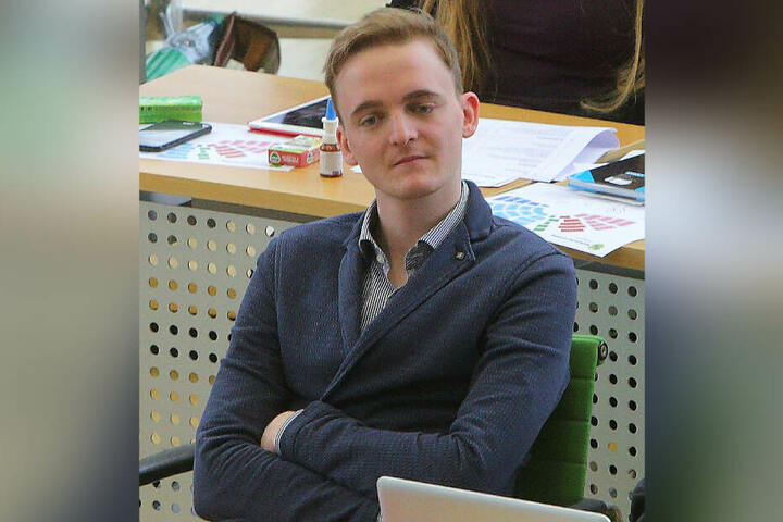 Marco Böhme (29) ist seit 2017 stellvertretender Fraktionsvorsitzender der Linken in Sachsen.