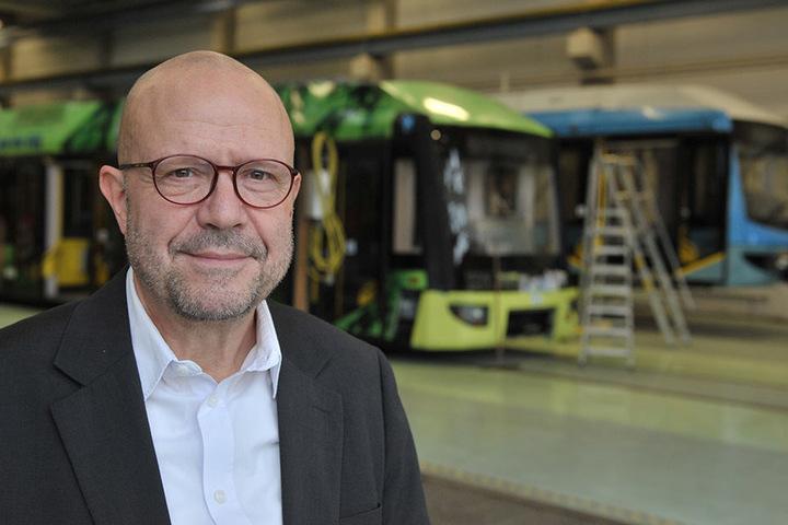CVAG-Sprecher Stefan Tschök (60) rechnet mit sechs Millionen Euro Umbaukosten.