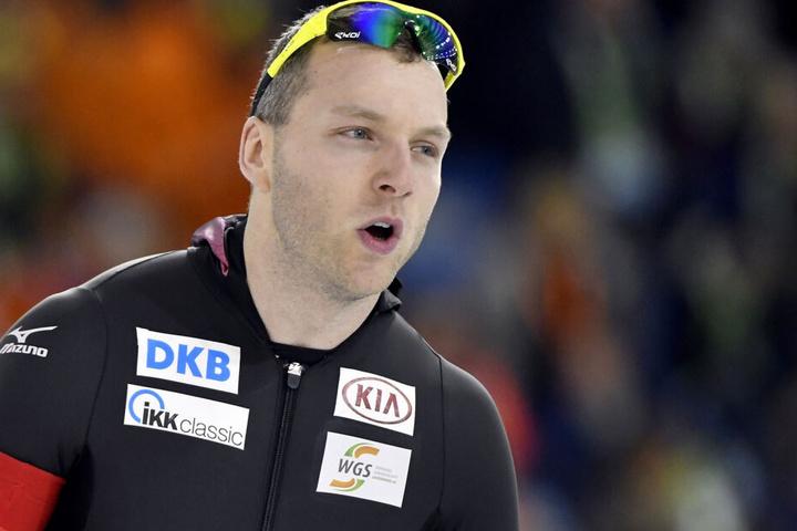 Eisschnellläufer Nico Ihle (33) wird bei der Sportler-Gala dabei sein.