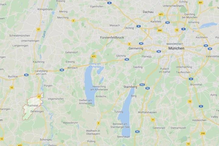 Bei Fuchstal im Landkreis Landsberg am Lech ist es in Bayern zu einem schrecklichen Unfall gekommen.