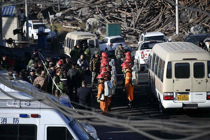 Laut ersten Erkenntnissen habe sich die Explosion durch illegale Bergarbeiten zugetragen.