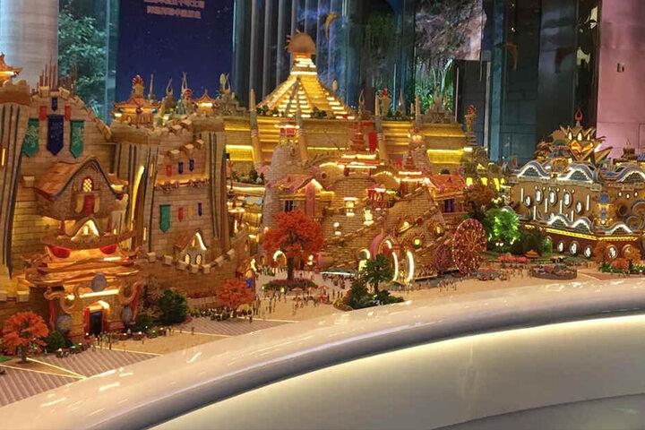 """Wie """"Alice im Wunderland"""": Die Chinesen planen eine Reihe weiterer, sehr spektakulärer Projekte."""